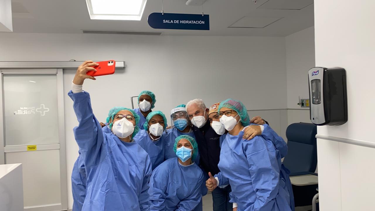 Expresidente Ricardo Martinelli recibió atención médica, tras presentar  un cuadro de hipertensión y arritmia cardíaca