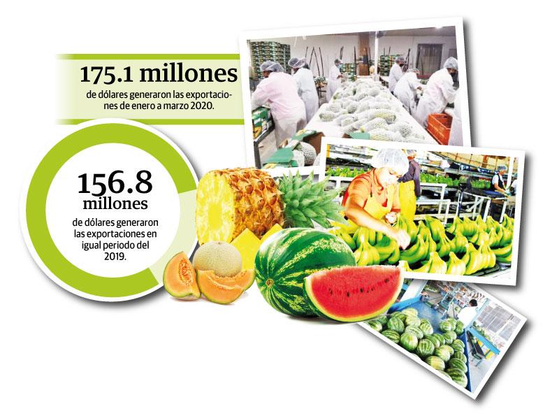Exportaciones crecieron 11.7 por ciento en medio de la pandemia de Covid-19