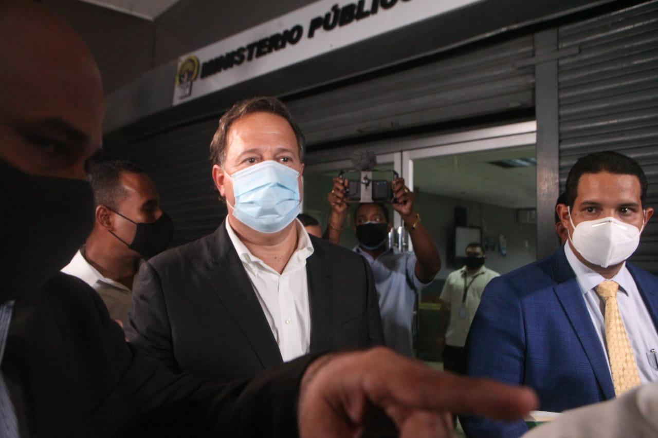 Ministerio Público decreta impedimento de salida y notificación periódica contra Juan Carlos Varela por caso Odebrecht