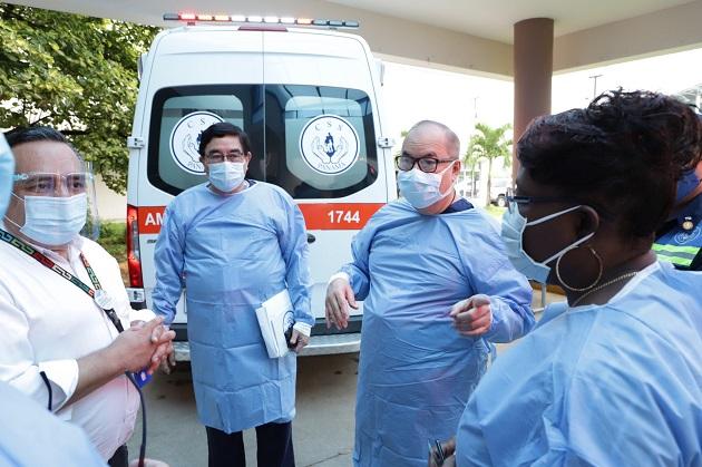 Tres servicios de atención de la CSS serán trasladados al hospital de Tocumen
