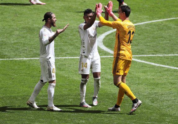 Real Madrid vence al Athletic Club con un penalti cobrado por Sergio Ramos