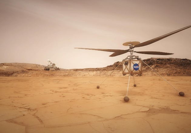 Helicópteros de la NASA volarán en Marte