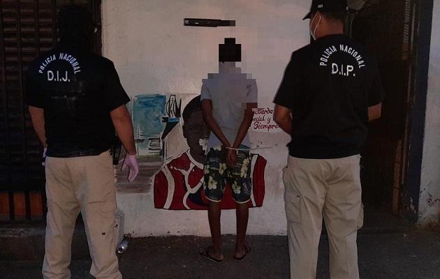 Policía Nacional captura a cabecilla de banda delincuencial que operaba en El Chorrillo