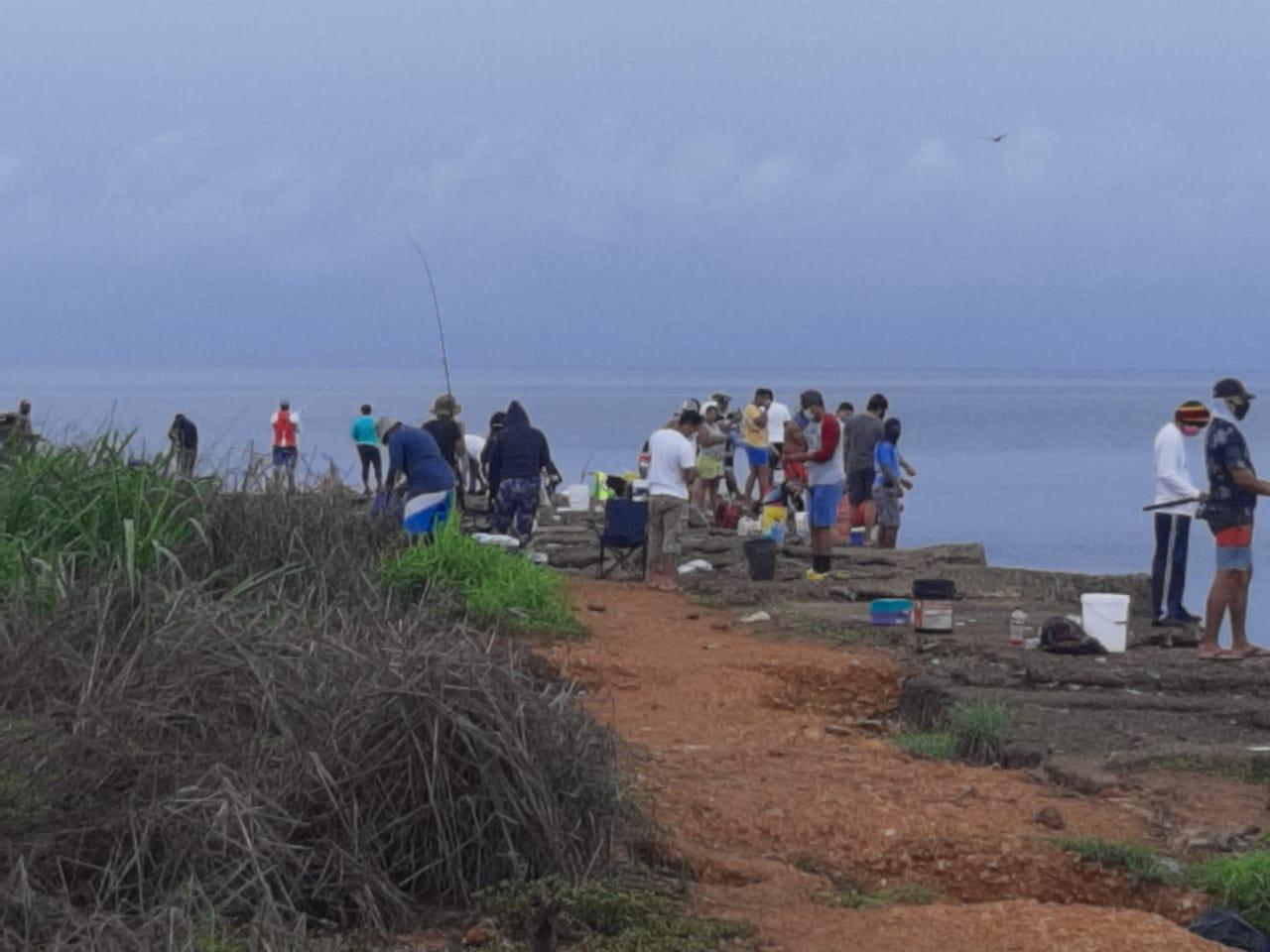 Autoridades atienden las denuncias por las fiestas y un 'parking' en las playas de Azuero