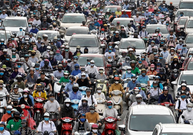 La pandemia ha traído más congestionamiento vehicular