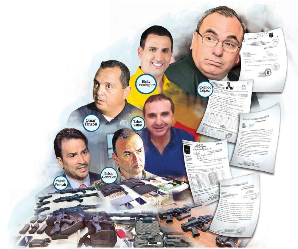 Círculo de poder de Juan Carlos Varela, investigado por supuesto tráfico de armas