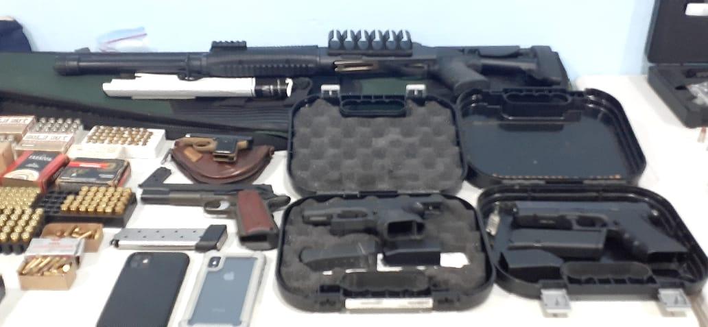 Exfuncionarios del gobierno de Juan Carlos Varela detenidos e implicados en el presunto delito de tráfico de armas
