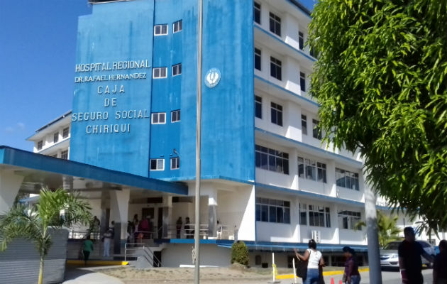 El recluso falleció en el hospital Rafael Hernández de David. Fotos: José Vásquez/Archivo.