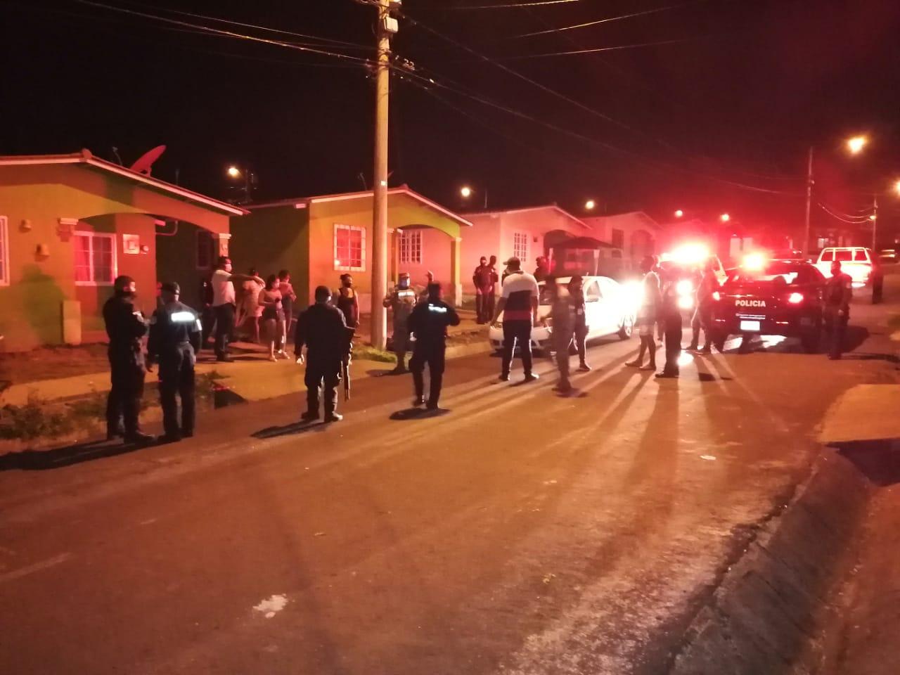 Varios detenidos en La Chorrera por violar la cuarentena total
