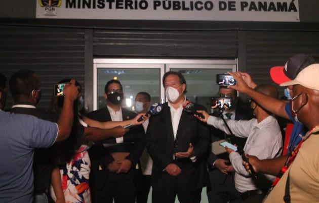 Juan Carlos Varela enfurece y evita hablar ante los medios sobre las donaciones de Odebrecht