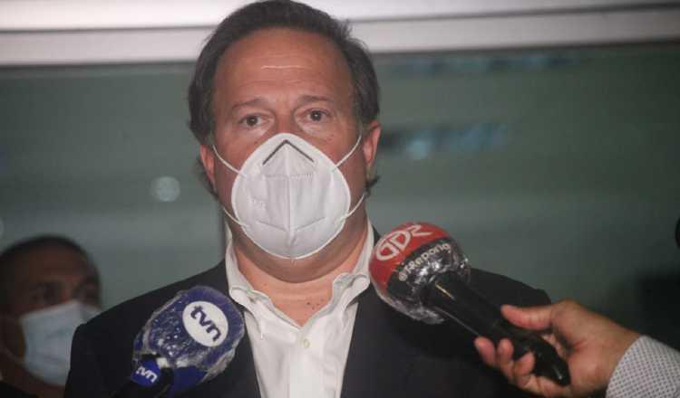 A Juan Carlos Varela le molesta que le pregunten sobre dineros de Odebrecht