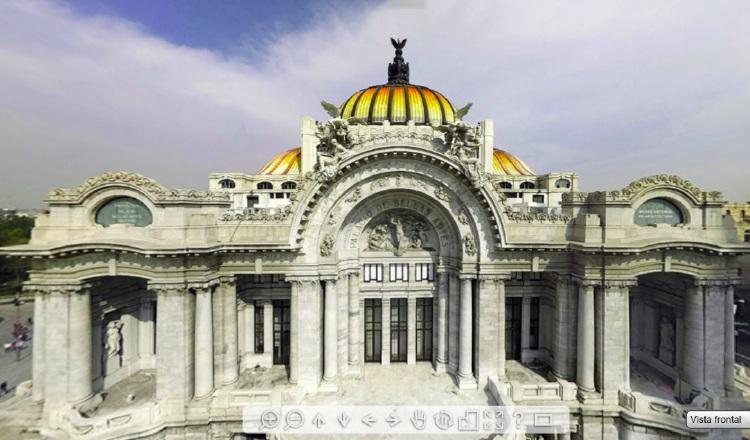 Recorrido virtual gratuito por el Palacio de Bellas Artes de México