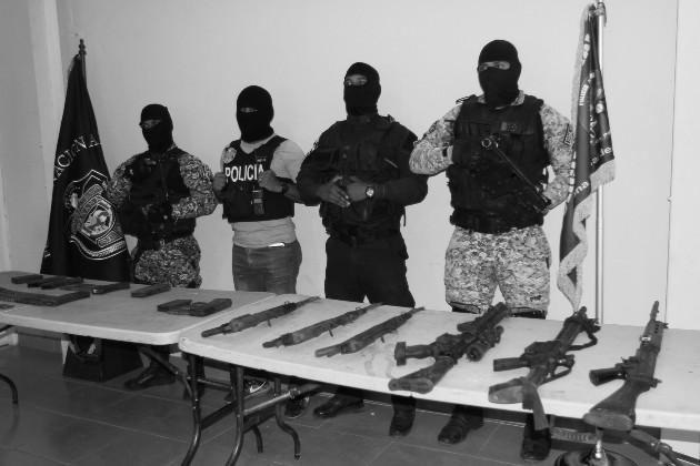 Delito de tráfico de armas
