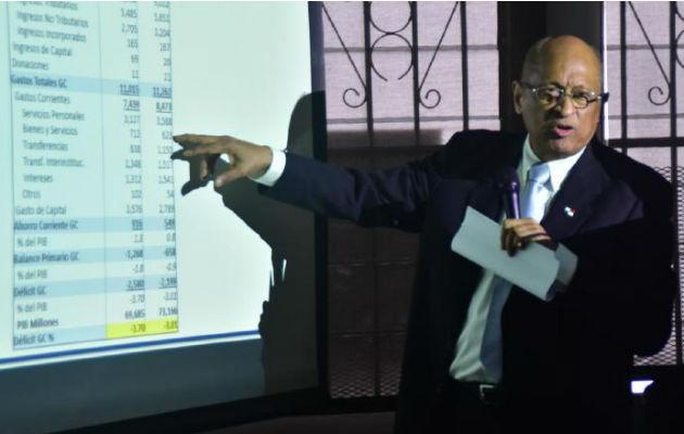 Ministro de Economía, Héctor Alexander, presenta tres anteproyectos para impulsar la economía