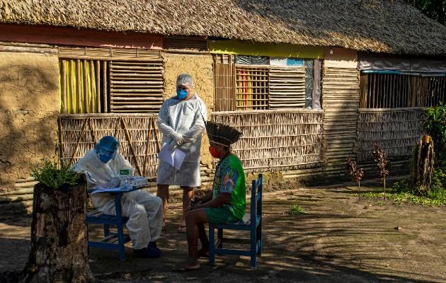 Llevaron el virus a las tierras tribales de Brasil