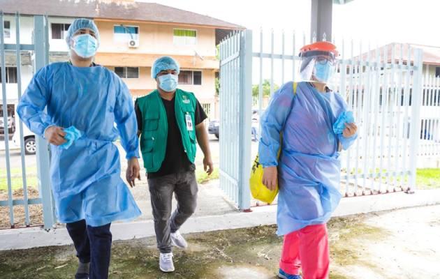 Muertes por COVID-19 totalizan 1,374 en Panamá y los casos llegan a 63,269
