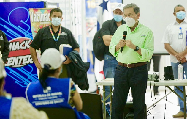 Laurentino Cortizo: 'Mientras no haya vacuna, debemos aprender a convivir con el virus'