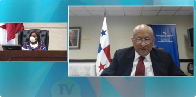 Ministro Héctor Alexander presenta proyecto de Presupuesto General del Estado 2021