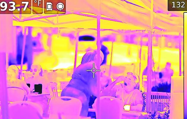 Las cámaras de calor se vuelven comunes por la pandemia