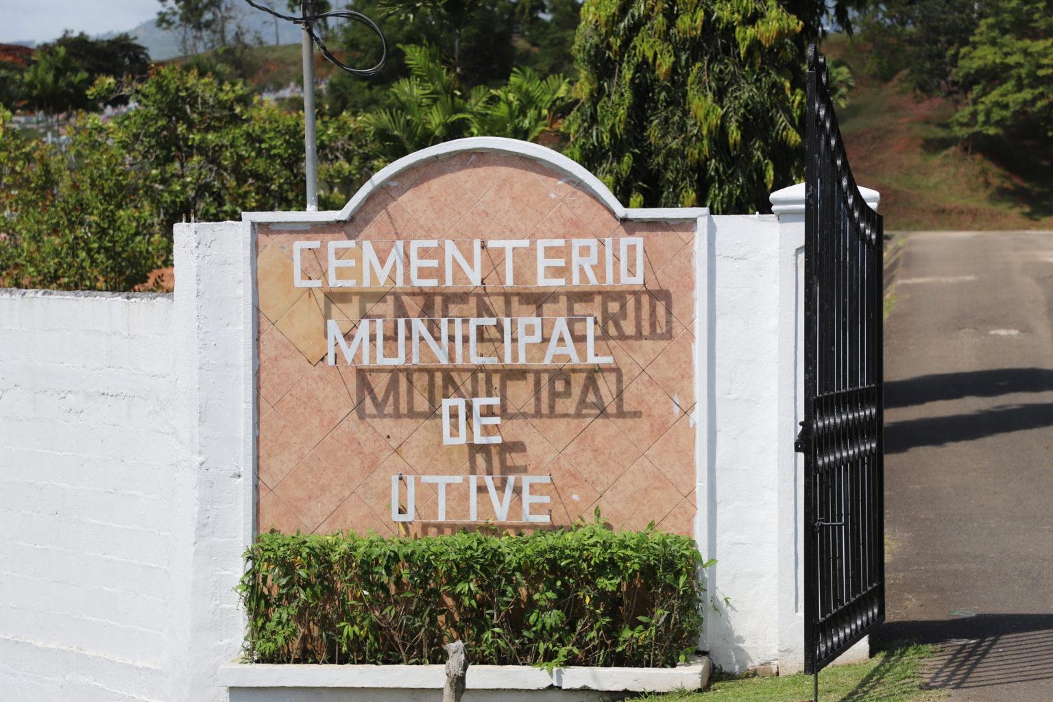 Preparan extensión de cementerio en Utivé ante falta de espacio en la ciudad y poca capacidad de morgues