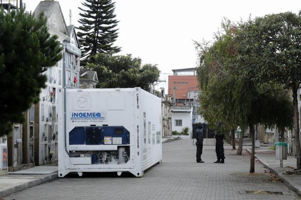Los hospitales y funerarias de Colombia están en problemas por causa de la pandemia