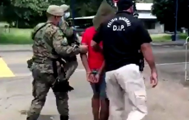 Capturan a sujeto presuntamente involucrado en el asesinato de un policía en Chepo