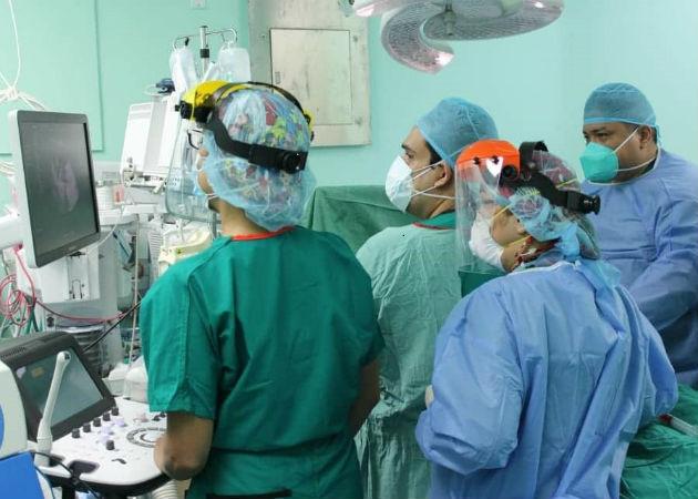 En hospital de Colón realizan la primera cirugía fetal en un embarazo de gemelos