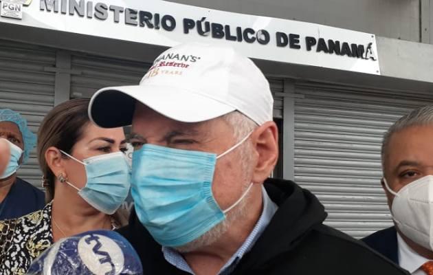 Ricardo Martinelli deja claro que no ha renunciado al principio de especialidad y denuncia atropello en su contra