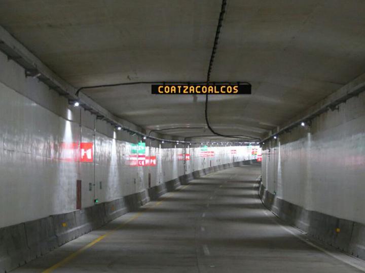 La disputa legal está relacionada a la construcción del Túnel Sumergido de Coatzacoalcos, en Veracruz, México. Foto/Cortesía