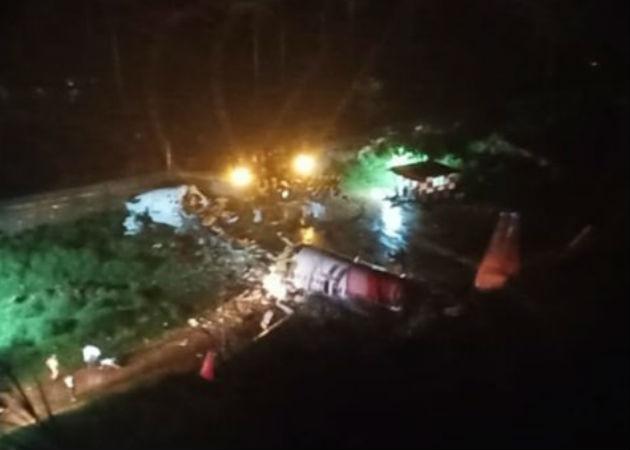 Accidente de un avión con unos 180 pasajeros al aterrizar en sur de la India