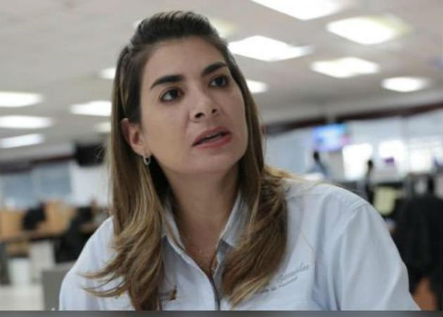 La Alcaldesa de Penonomé, Paula María González, sostuvo que no ha recibido la nota por parte de los representantes. Fotos: Cortesía.