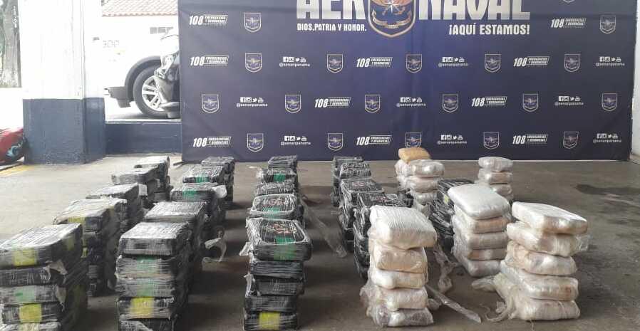 Senan decomisa 429 paquetes de droga en Puerto Caimito y Cristóbal