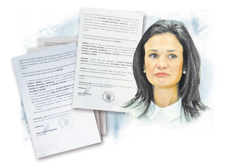 Fiscalía admite querellas presentadas por Ricardo Martinelli contra Isabel De Saint Malo y una periodista de Mi Diario