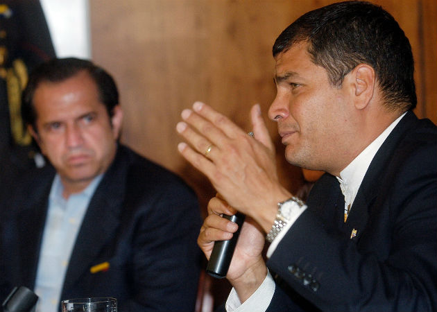 Rafael Correa desafía la política en Ecuador con su candidatura a vicepresidente