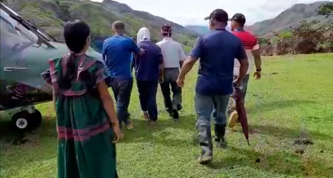 El aprehendido fue trasladado desde otra apartada comunidad hacia el hospital regional de Veraguas, para el protocolo reglamentario.