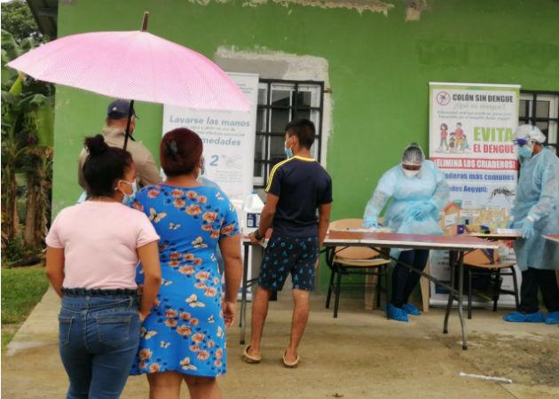 Las comunidades atendidas se encuentran en una área semi-rural. Fotos: Diómedes Sánchez S.