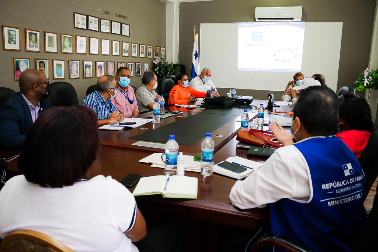 Autoridades de seguridad y salud homologan capacidades en materia de trazabilidad en Colón