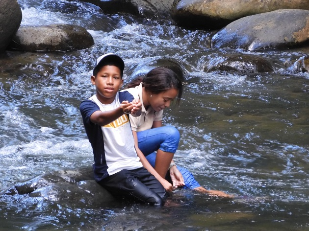 ¡Impactante! Video demuestra que el río Juan Díaz no está contaminado en toda su extensión