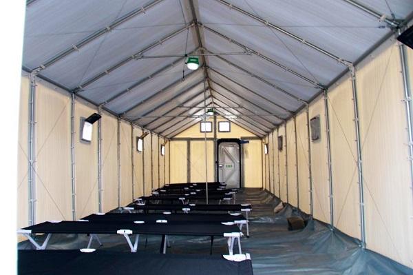 Construcción de nuevo albergue para migrantes en Darién tiene un 90% de avance