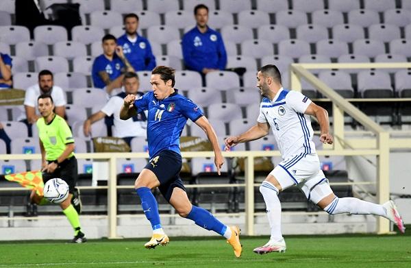 Italia pincha en casa en la Liga de Naciones de la UEFA