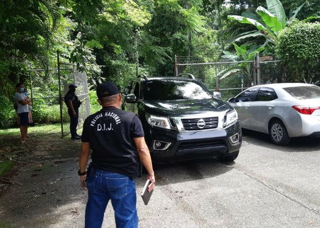 Al igual que en la primera diligencia, había retenes policiales. Fotos: Diómedes Sánchez.