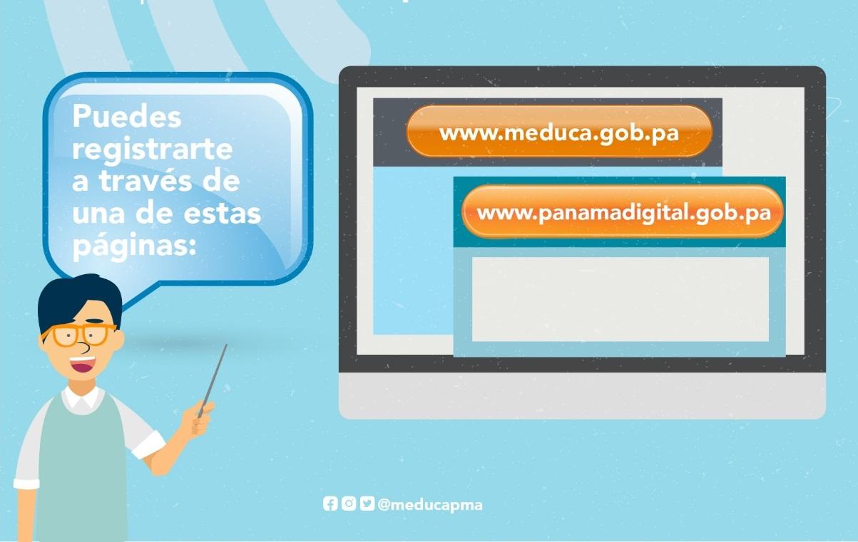 Pasos para registrarse en el plan de Internet gratis del Meduca