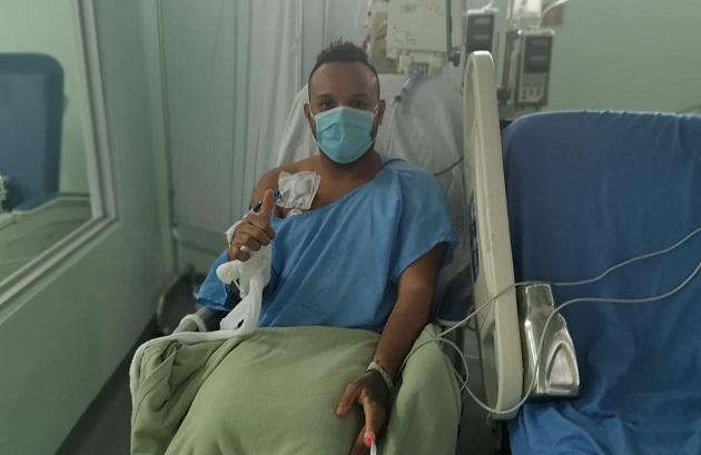 Abdiel Amor comenzó a presentar síntomas el 31 de mayo.