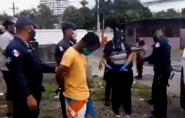 Hombre que debía cumplir cuarentena fue sorprendido en las calles de Panamá Viejo y trasladado a un hotel