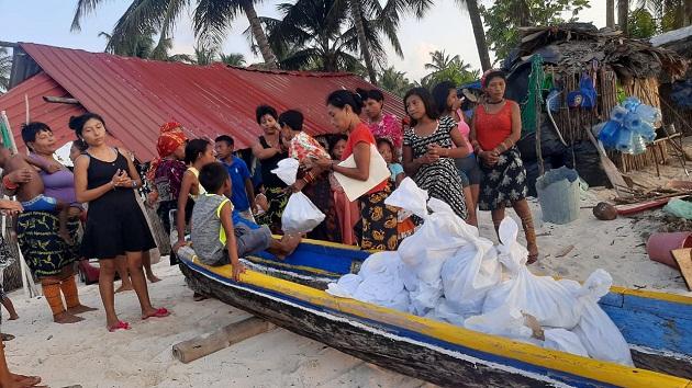 Las regiones de Guna Yala, Madungandí y Wargandí se benefician del Plan Panamá Solidario