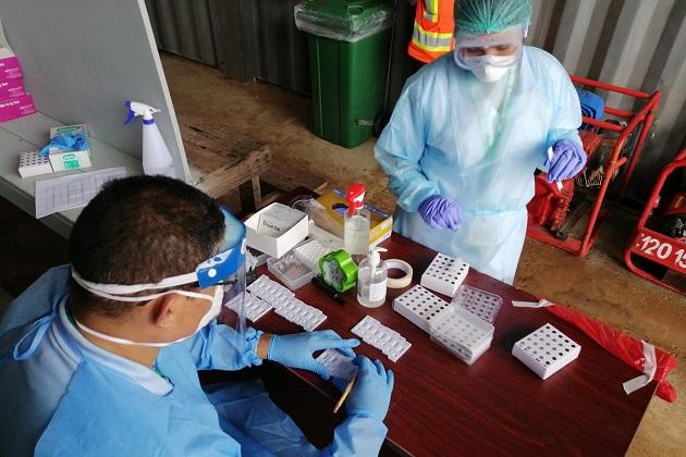 Baja la cantidad de pacientes hospitalizados por COVID-19 en Panamá