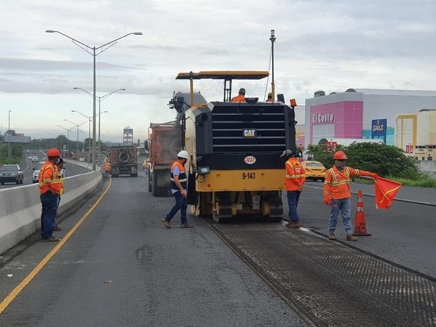 Se reactivan 50 puestos de trabajo en los proyectos de la Autopista Arraiján-La Chorrera