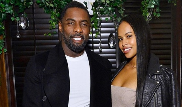Idris Elba y su esposa,Sabrina Dhowre, desmienten rumores sobre que tienen un bebé secreto