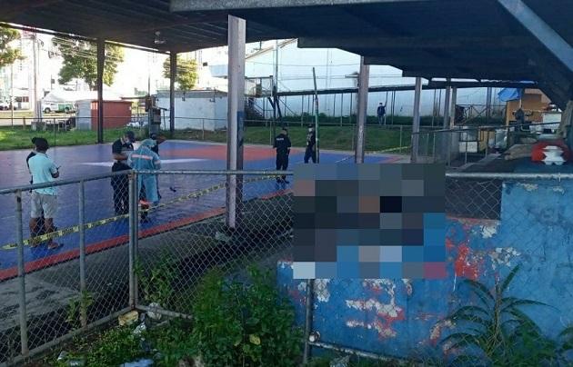 Adulto mayor es encontrado muerto en cancha de baloncesto en Los Libertadores