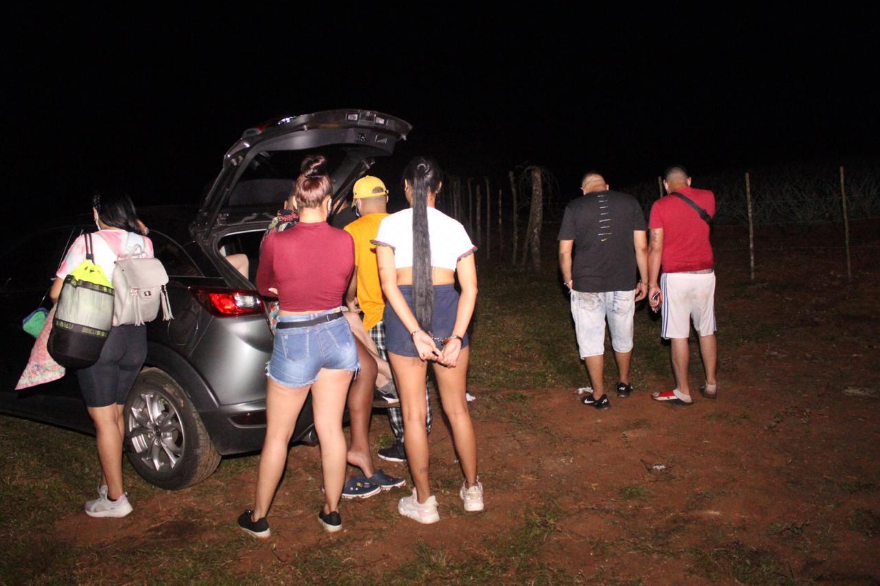 Atrapan a más de 20 extranjeros en una fiesta clandestina en La Chorrera